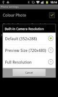 Screenshot of SECuRET RemoteControl DEMO