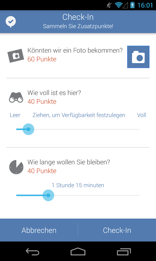 Parkopedia Parken – Screenshot