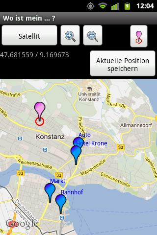 Wo ist mein ... ?- screenshot