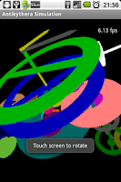 Screenshot of Antikythera Simulation