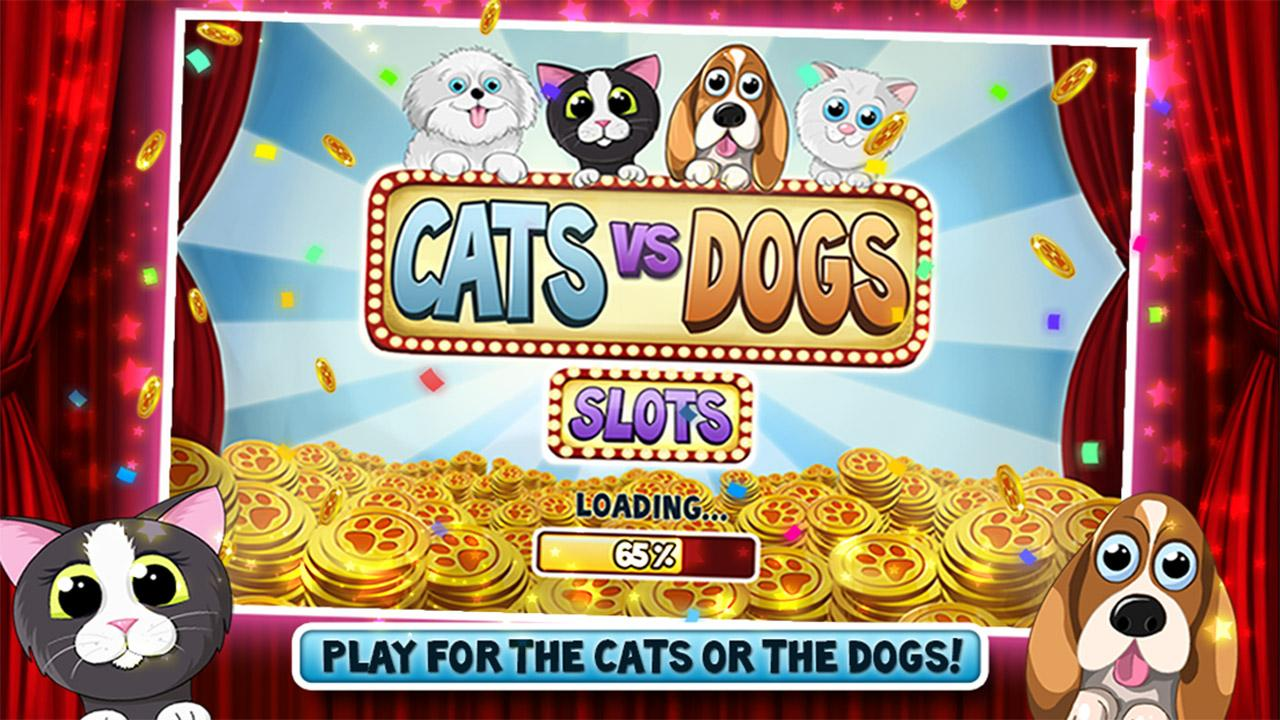 Cats vs Dogs Slots- screenshot