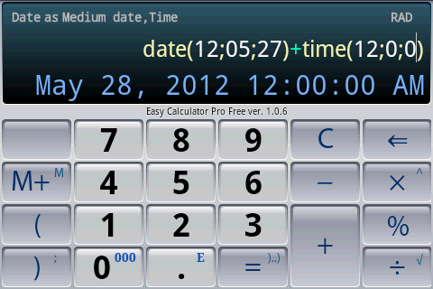 Easy Calculator Pro- screenshot