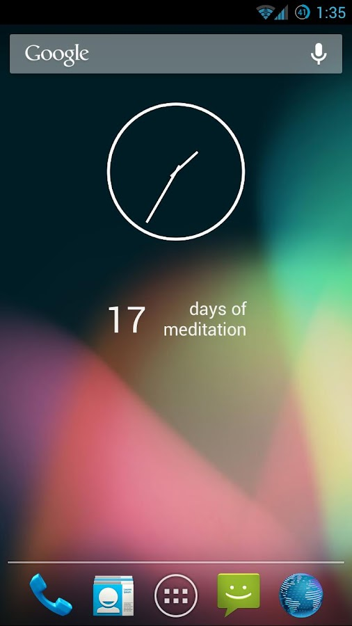 Meditation Assistant - screenshot