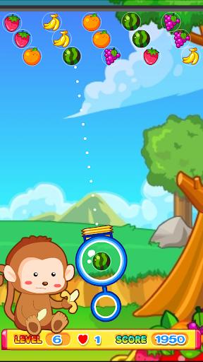 バブルのシューティング ゲーム