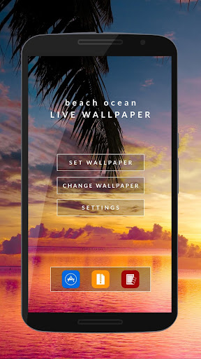 Beach Ocean HD Live Wallpaper