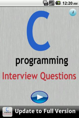 C Programming FAQS Lite - screenshot