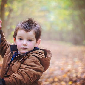 stick by Melissa Marie Gomersall - Babies & Children Toddlers ( winter, branch, toddler, cute, light )
