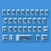 Royal Blue Pearl Keyboard Skin