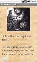 Screenshot of Norske Folkeeventyr