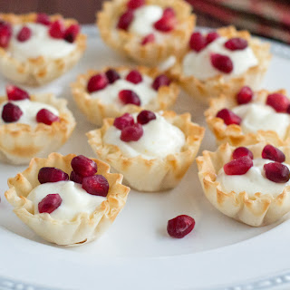 Little Pomegranate Dessert Cups.