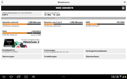 3Kundenzone Screenshot 3