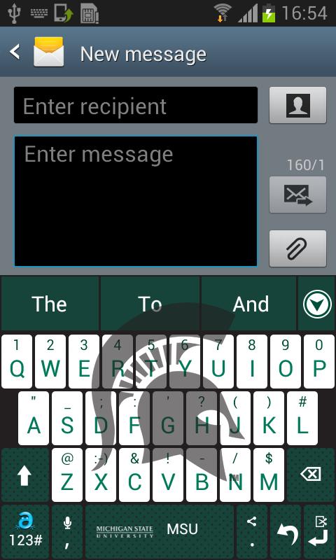 Michigan State Keyboard - screenshot
