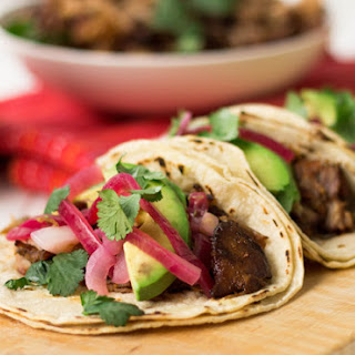 Pork Carnitas With Pickled Red Onions