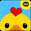 러버닭 카카오톡테마 - Kakao talk theme icon
