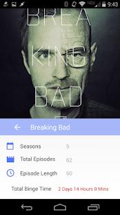 Television Binge Calculator - screenshot thumbnail