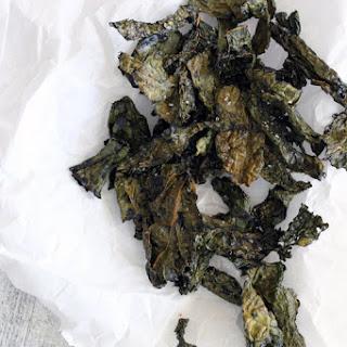 Karina's Easy Crispy Kale Chips