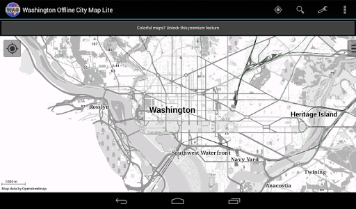 【免費旅遊App】Washington City Map Lite-APP點子
