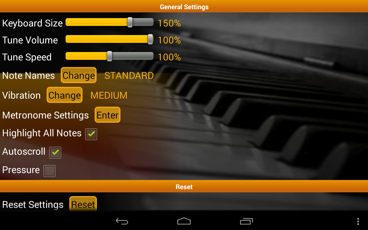 Piano Scales & Chords Free- screenshot