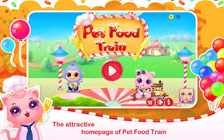Pet Food Train 1.4 screenshot 641266