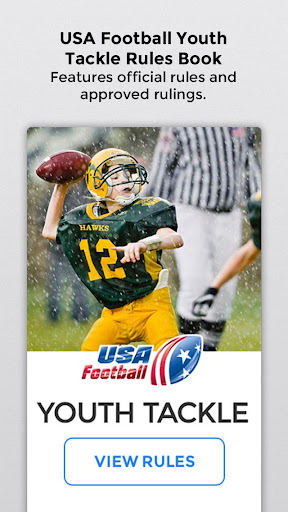 USA Football Rules Signals