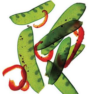 Sautéed Snow Peas and Peppers
