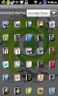 Icon App 7 Go Launcher EX - screenshot thumbnail