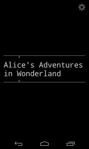 Alice in Wonderland in 2 hours