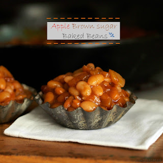 Apple Brown Sugar Baked Beans.