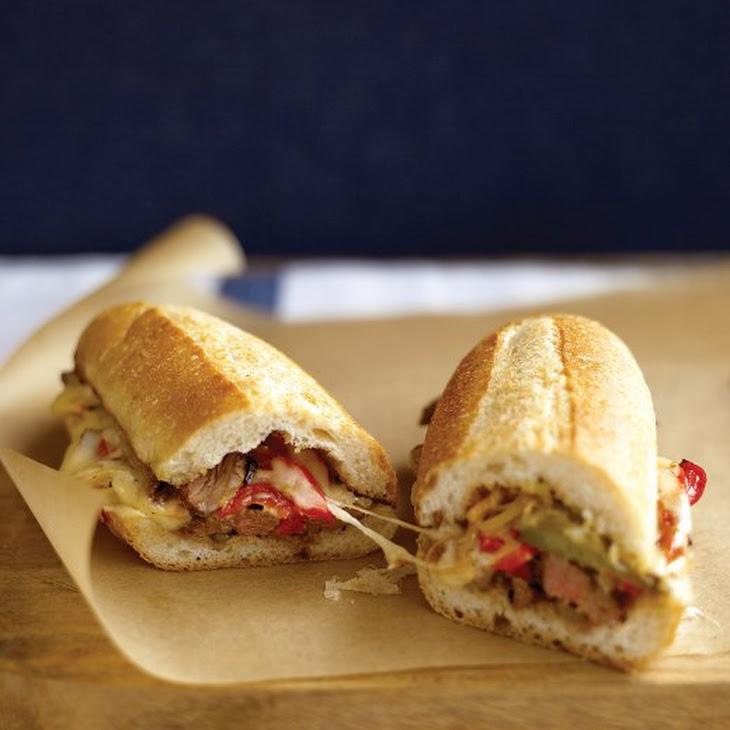 Steak Sandwich with Peppers Recipe