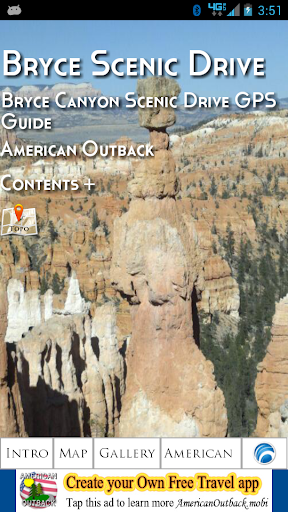 Bryce Canyon Scenic GPS Guide