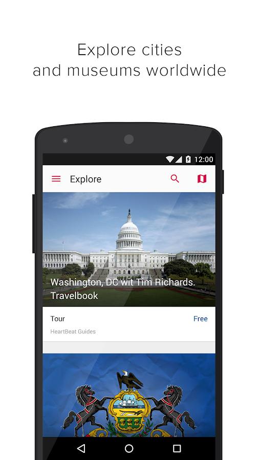 izi.TRAVEL tourist audio guide - screenshot
