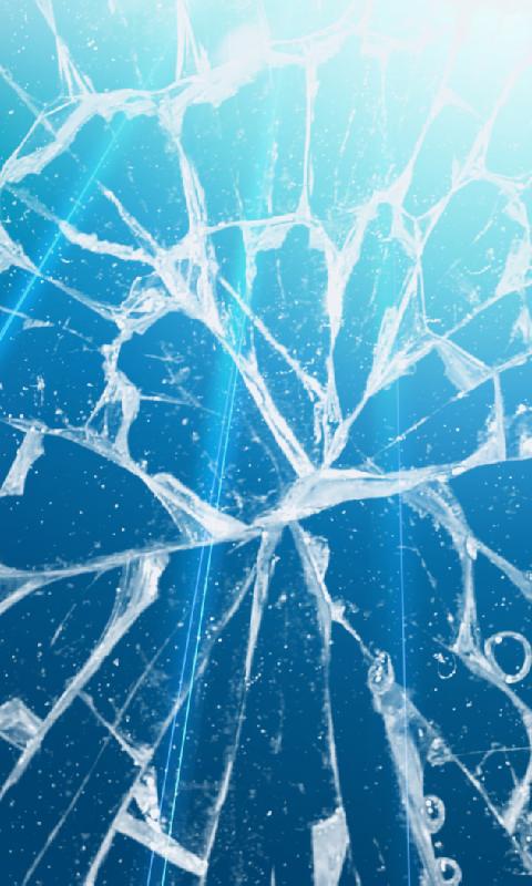 broken screen live wallpaper download