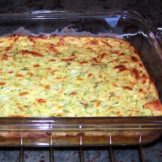 Zucchini Cheese Garlic Appetizer.
