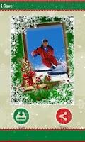 Screenshot of Christmas Photo Frames