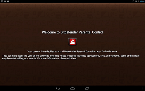 Bitdefender Parental Control - screenshot thumbnail