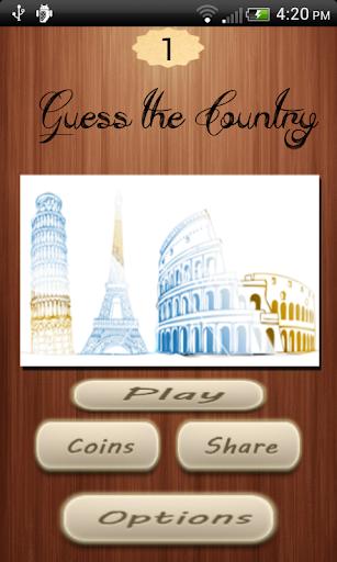 4 Pics 1 Country Quiz