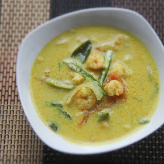 Kerala Shrimp Moilee (Curried Shrimp and Coconut Soup).