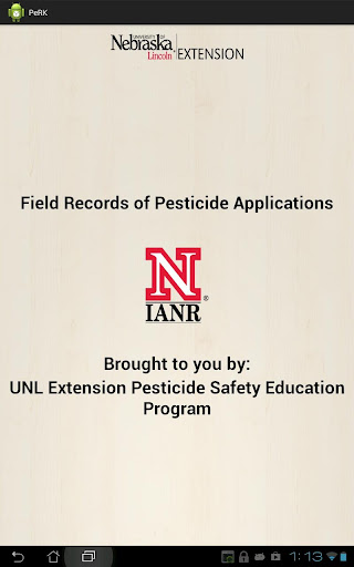 Pesticide Recordkeeping PeRK