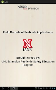Pesticide Recordkeeping (PeRK) - screenshot thumbnail