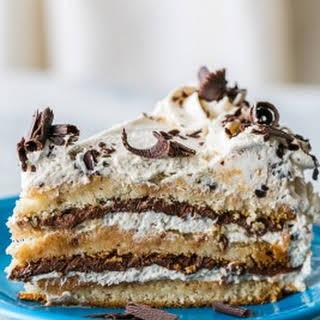 Almond Nutella Cake.