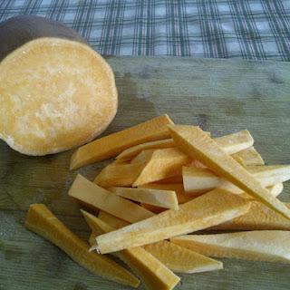 Yam Fries + Yam Mash (clean Eats/vegan)