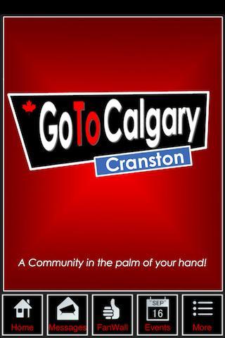 Go To Calgary - Cranston