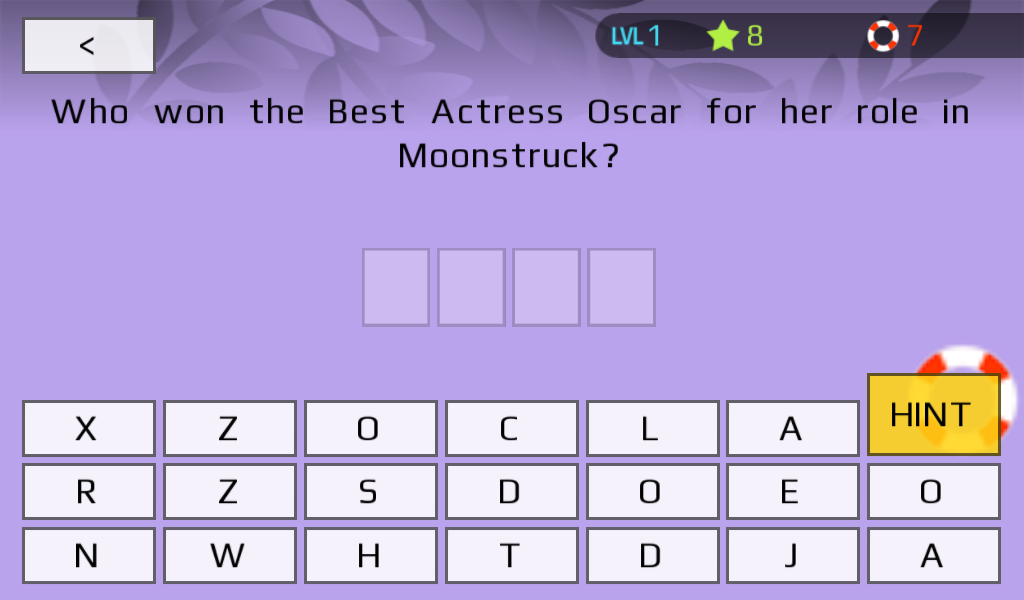 Oscars Trivia (Unofficial)- screenshot