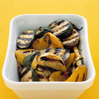Grilled Zucchini and Squash.