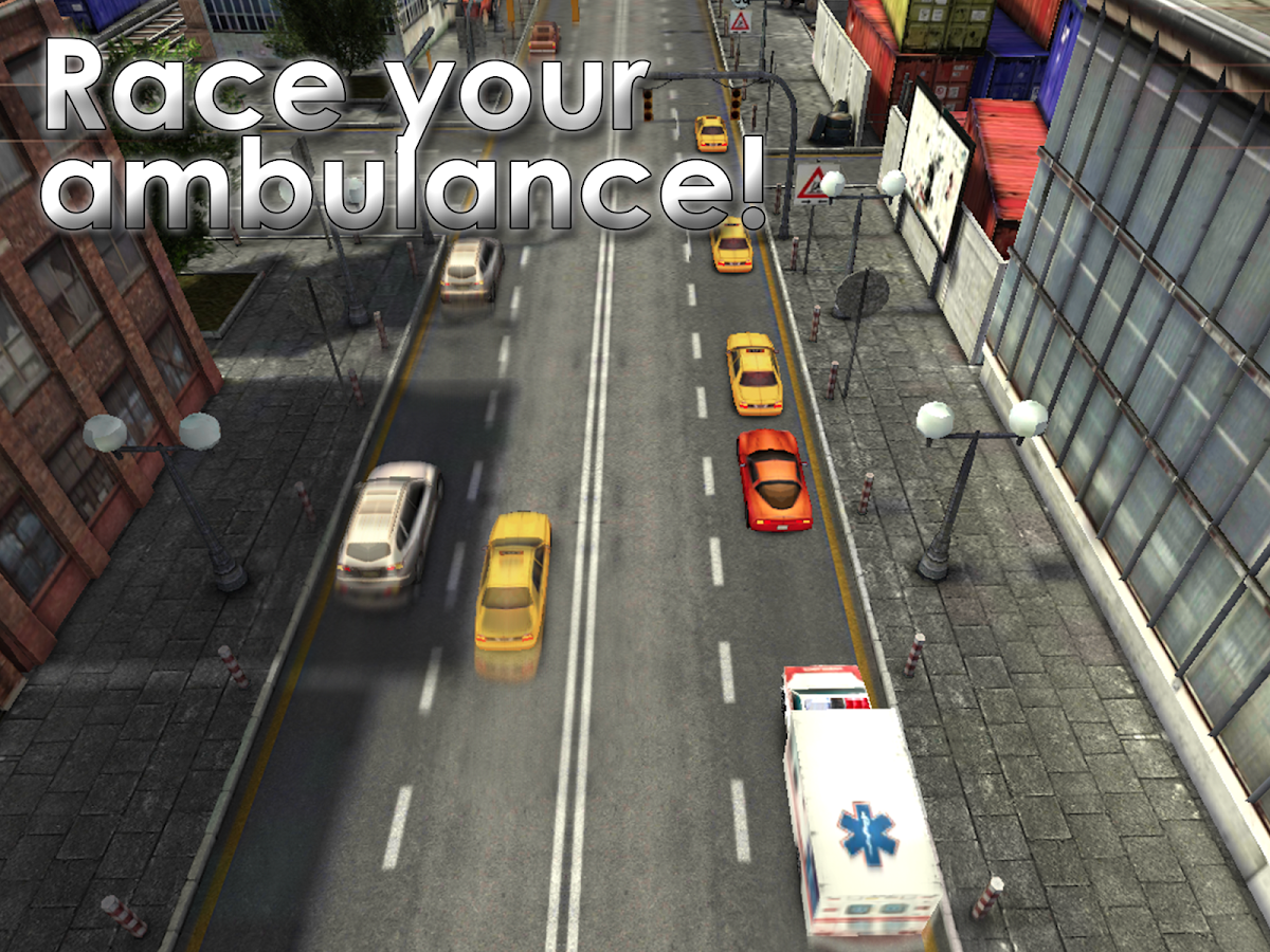 911 Ambulance Joyride Racing - screenshot