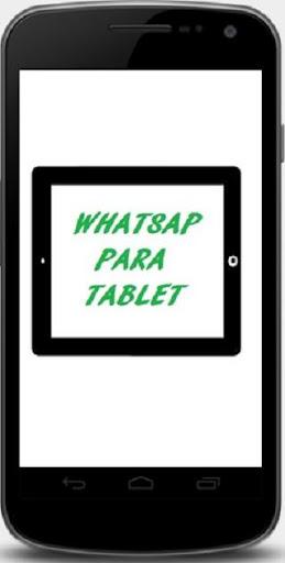 Instalar WhatsAp para tablet