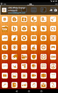 VRS White-Orange Icon Pack v1.0.0