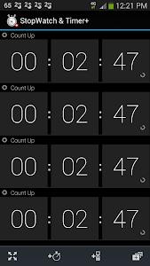 Stopwatch & Timer+ v1.25