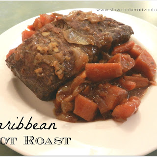 Caribbean Pot Roast Featuring Savory Pot Roast Crock-Pot Seasoning Mix