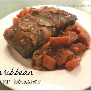 Caribbean Pot Roast Featuring Savory Pot Roast Crock-Pot Seasoning Mix.